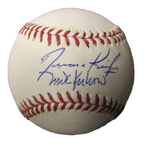 Photo of Kruk and Kuip Autographed Baseball