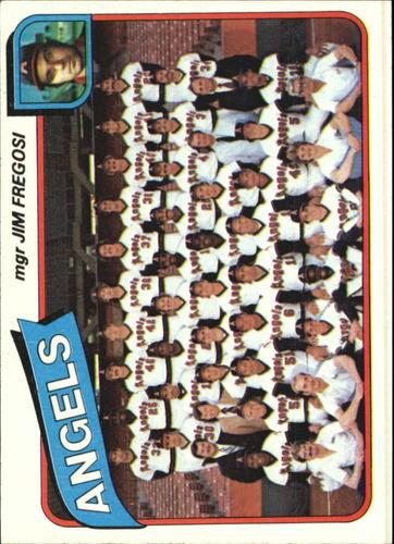 Photo of 1980 Topps #214 California Angels CL/Jim Fregosi MG