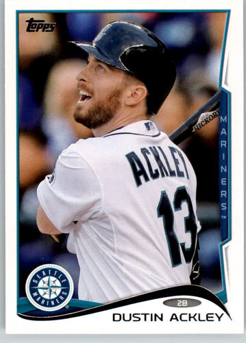 Photo of 2014 Topps #9 Dustin Ackley