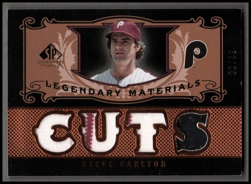 Photo of 2007 SP Legendary Cuts Legendary Materials Triple #SC1 Steve Carlton/99