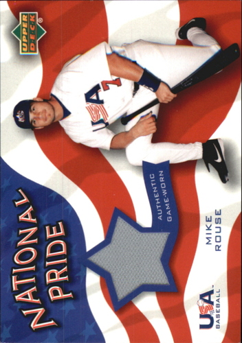 Photo of 2004 Upper Deck National Pride Memorabilia 2 #MRP Mike Rouse Jersey
