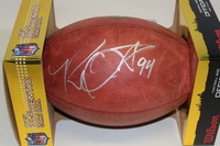 RAMS - ROBERT QUINN SIGNED AUTHENTIC FOOTBALL