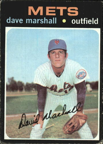 Photo of 1971 Topps #259 Dave Marshall