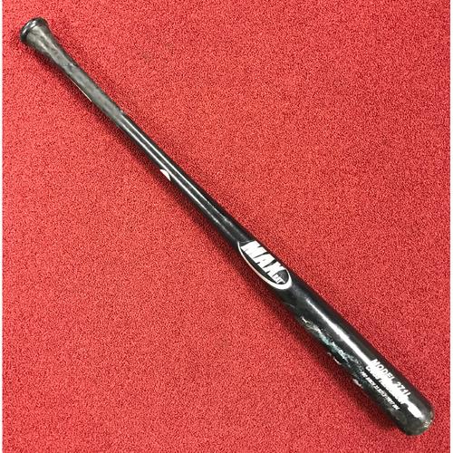 Photo of Chris Herrmann Game-Used Broken Bat