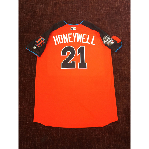 2017 All-Star Futures Game Auction: Brent Honeywell Batting Practice Used Top