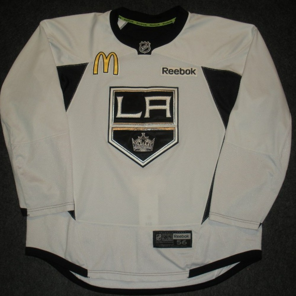 Justin Williams - 2014 Stanley Cup Final - Los Angeles Kings - Practice-Worn Jersey