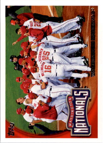 Photo of 2010 Topps #361 Washington Nationals