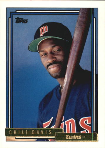 Photo of 1992 Topps Gold #118 Chili Davis