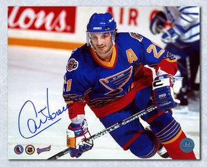 Guy Carbonneau St. Louis Blues Autographed 8x10 Photo