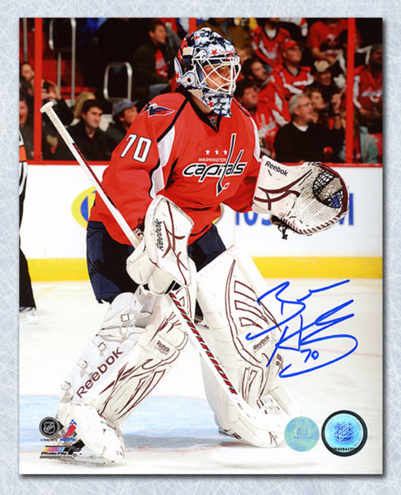 Braden Holtby Washington Capitals Autographed Goalie 8x10 Photo