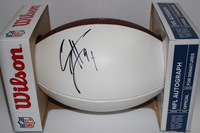 NFL - SAINTS CAMERON JORDAN SIGNED PANEL BALL