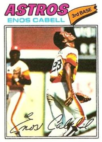 Photo of 1977 Topps #567 Enos Cabell