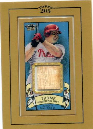 Photo of 2003 Topps 205 Relics #JT Jim Thome Bat