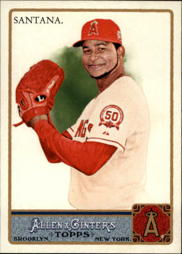 Photo of 2011 Topps Allen and Ginter #248 Ervin Santana
