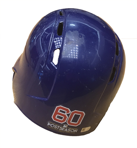 Photo of Felix Pena 2017 Postseason Batting Helmet