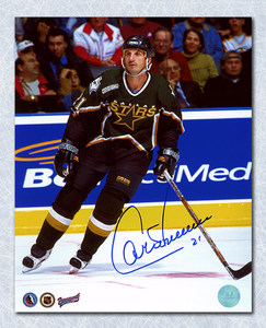 Guy Carbonneau Dallas Stars Autographed 8x10 Photo