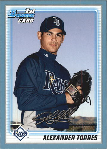 Photo of 2010 Bowman Prospects Blue #BP23 Alexander Torres