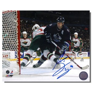 Todd Bertuzzi Autographed Vancouver Canucks 8x10 Photo