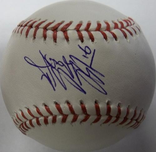 Wei-Yin Chen Autographed Baseball