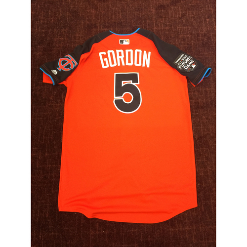 Photo of 2017 All-Star Futures Game Auction: Nick Gordon Batting Practice Used Top