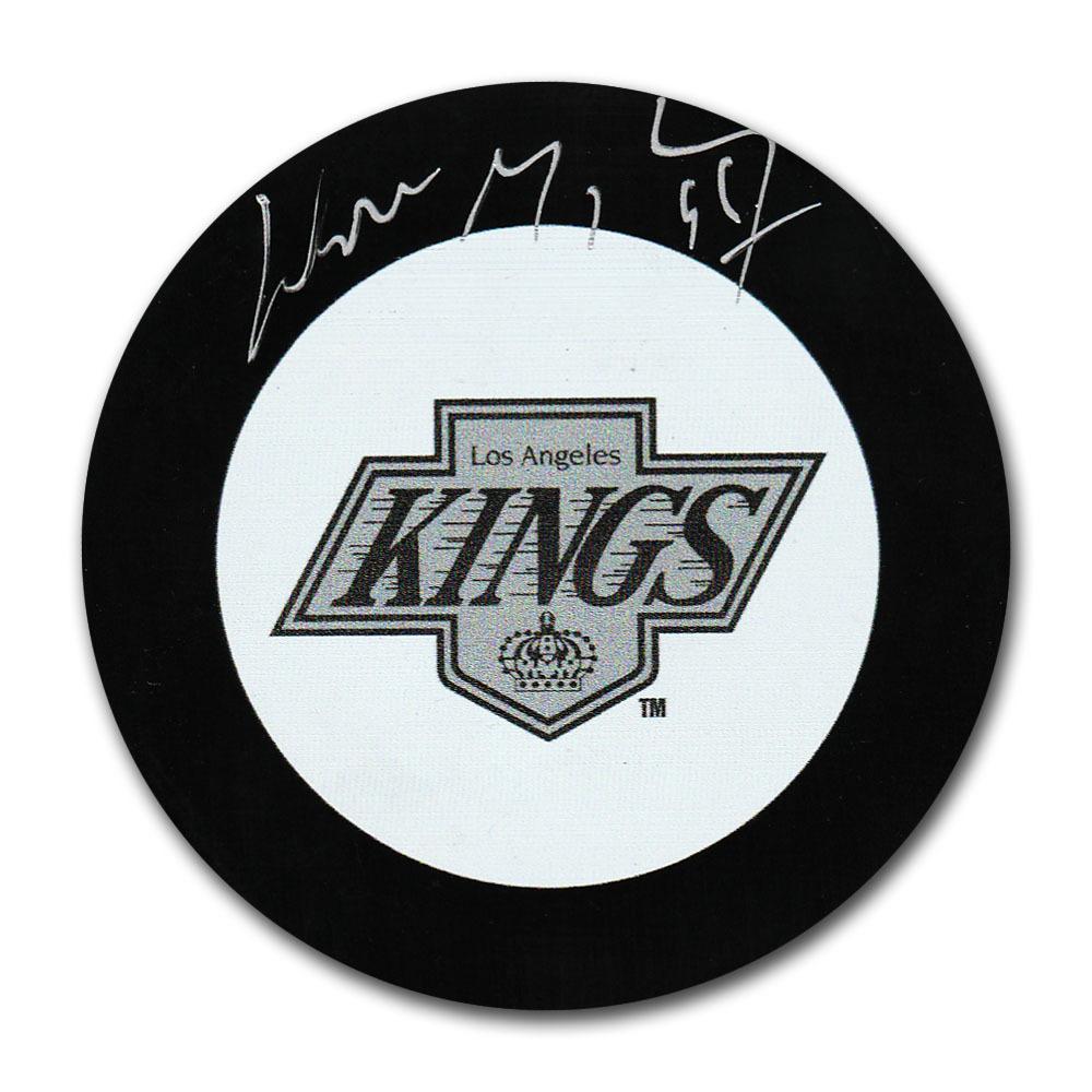 Wayne Gretzky Autographed Los Angeles Kings Puck