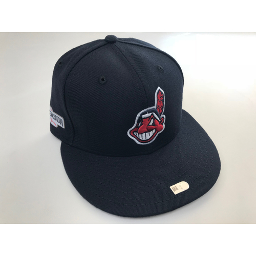 Danny Salazar 2016 Postseason Cap (Size 7 ¼)