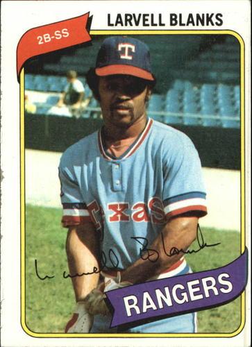 Photo of 1980 Topps #656 Larvell Blanks