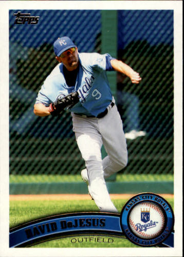 Photo of 2011 Topps #170 David DeJesus