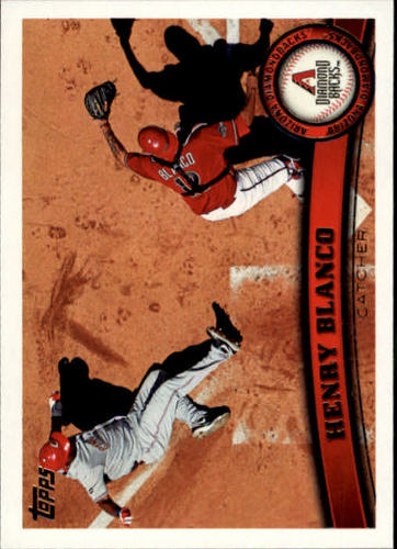Photo of 2011 Topps Update #US74 Henry Blanco