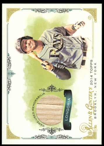 Photo of 2014 Topps Allen and Ginter Relics #FSREL Evan Longoria A