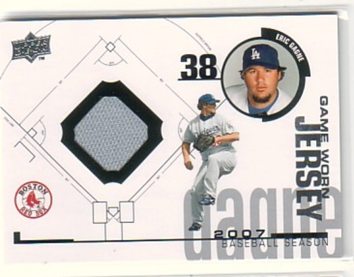 Photo of 2008 Upper Deck UD Game Materials 1998 #EG Eric Gagne