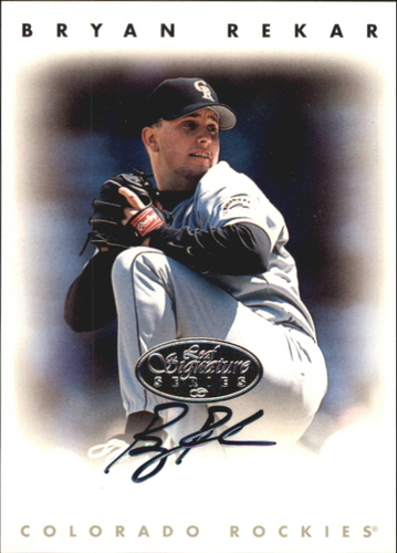 Photo of 1996 Leaf Signature Autographs Silver #191 Bryan Rekar