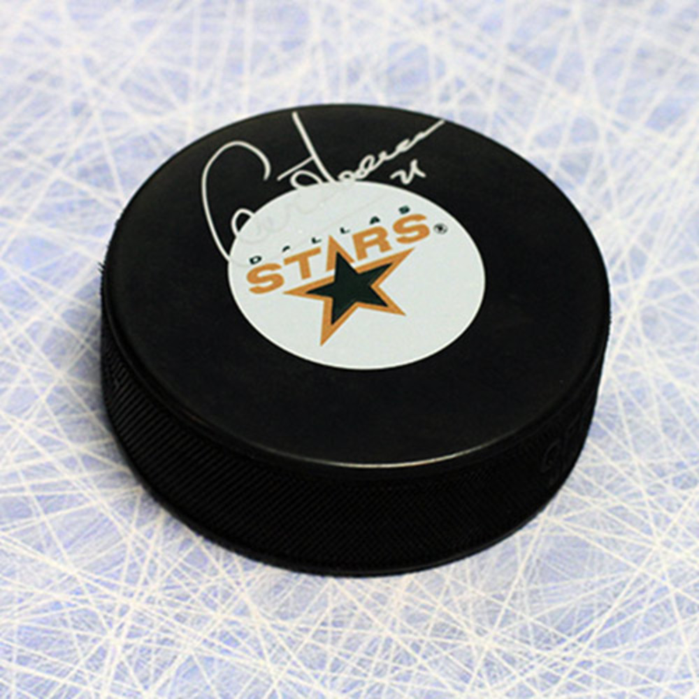 Guy Carbonneau Dallas Stars Autographed Hockey Puck