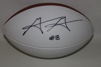 NFL - SAINTS GARRETT GRAYSON SIGNED PANEL BALL (SLIGHT SMUDGE ON SIGNATURE)