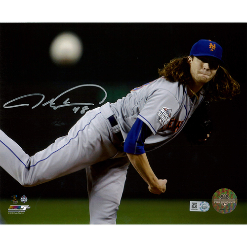 Photo of Jacob deGrom - Autographed 8X10 World Series Photo