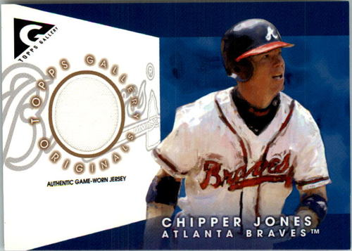 Photo of 2005 Topps Gallery Originals Relics #CJ Chipper Jones  Jsy