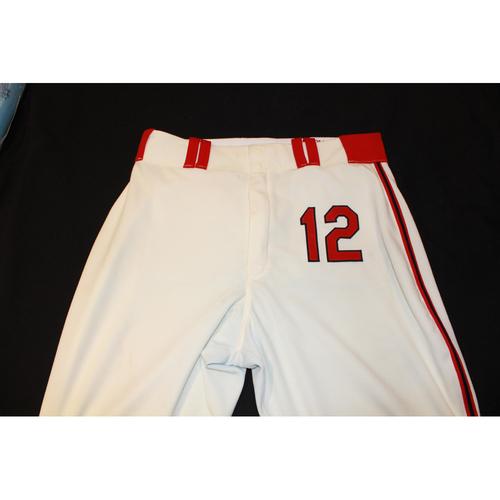 Photo of Jorge Soler Game-Used Kansas City Monarchs Pants (5/7/17) - 36-49-36