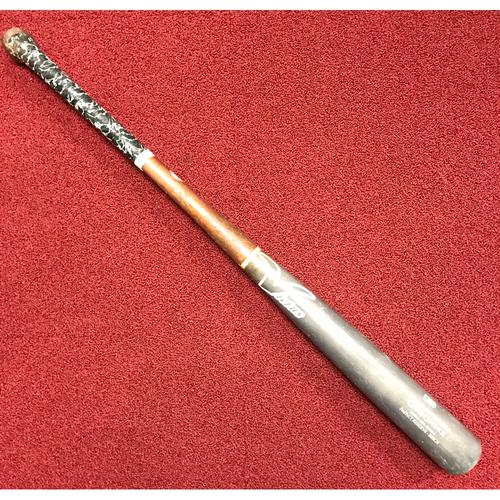Photo of Chris Owings Game-Used Broken Bat