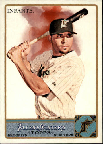Photo of 2011 Topps Allen and Ginter #252 Omar Infante