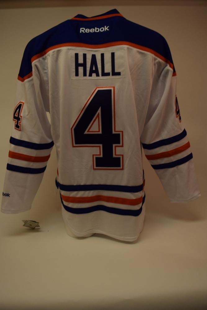 Chandail des Oilers d'Edmonton autographié par Taylor Hall | Taylor Hall autographed Edmonton Oilers jersey