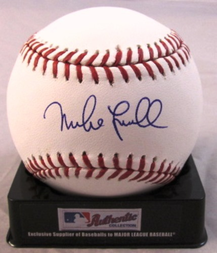 Photo of Mike Lowell Autographed Baseball