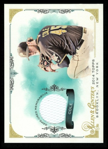 Photo of 2014 Topps Allen and Ginter Relics #FSRGC Gerrit Cole A