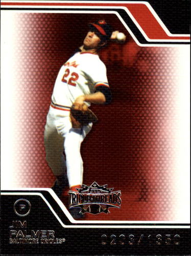 Photo of 2008 Topps Triple Threads #108 Jim Palmer