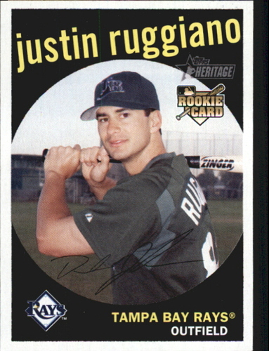 Photo of 2008 Topps Heritage #253 Justin Ruggiano RC