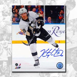 Kris Letang Pittsburgh Penguins Pass Autographed 8x10
