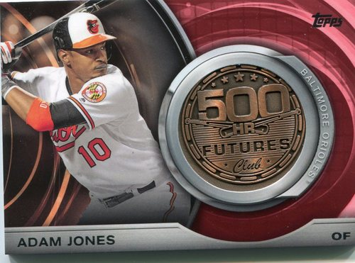 Photo of 2016 Topps Update 500 HR Futures Club Medallions #500M7 Adam Jones
