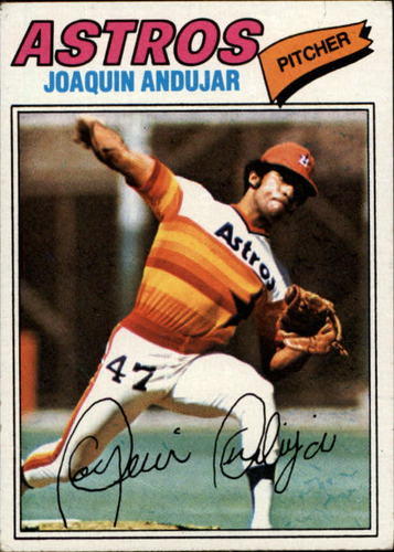 Photo of 1977 Topps #67 Joaquin Andujar RC