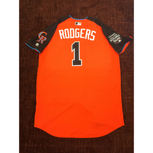 Photo of 2017 All-Star Futures Game Auction: Brendan Rogers Batting Practice Used Top