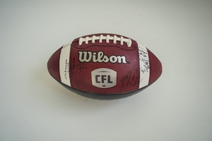 Diversity is Strength Ticats Signed Football (2 of 2)