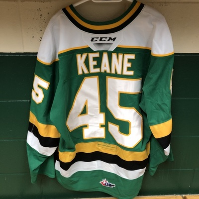 Gerard Keane 2019-2020 Green Game Jersey